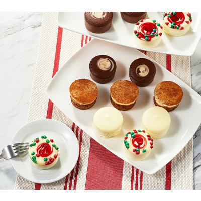 Holiday Mini Cheesecakes & Layer Cakes Sampler