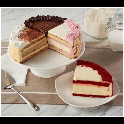 Best of Junior's Layercake Cheesecake Sampler Extra Large