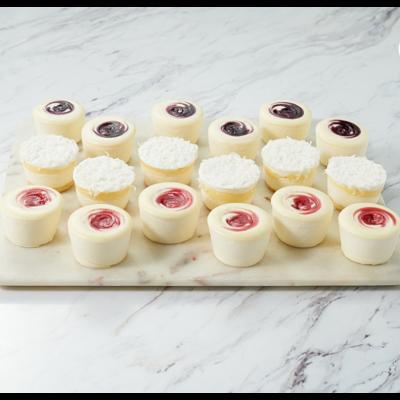Summer Mini Cheesecake Assortment (set of 18)