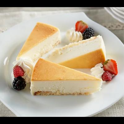 Plain sliced on plate