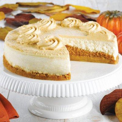 Caramel Pumpkin Pie Cheesecake
