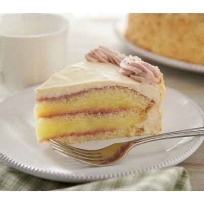 Raspberry Lemon Slice